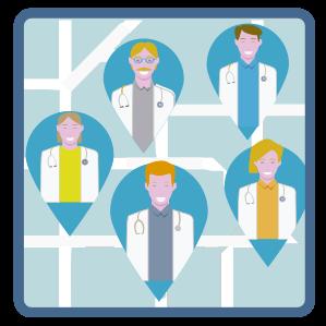 Busca un médico en tu entorno